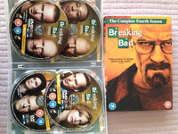 Breaking Bad Complete 4th Season DVD Box Set