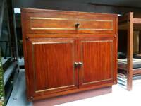 Vintage Retro 50s 60s 70s Chest TV Unit Cupboard Bedside Table Bedroom