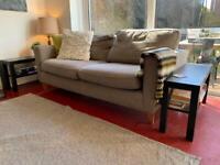Grey sofa - Free. huge house clearance.