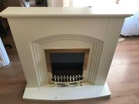 Fire place and electric fire