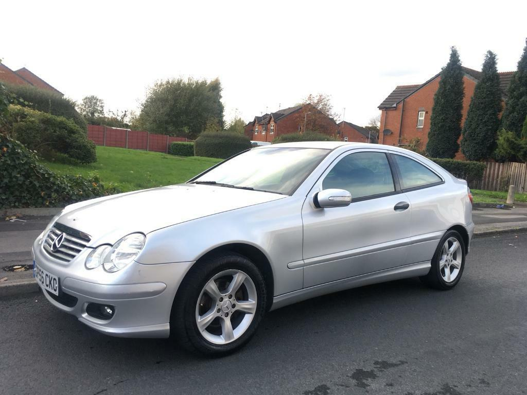 2006 Mercedes C Class Coupe C220 cdi Automatic Only 103k Miles 2 keys