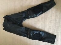 Motorcycle clothing - Ladies Buffalo leather trousers size 12 brand new