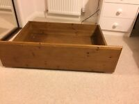 King Size Duckers Bed, Brand New Mattress and 4 substantial slide in under bed storage drawers