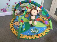 Mothercare Safari Musical Playmat