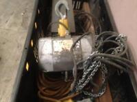 Hoist lift electric chain saga 3 phase heavy duty professional