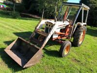 David Brown 996 Tractor with Loader (circa 1975) VAT FREE Digger Dumper Kubota JCB Excavator