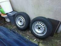 VW Volkswagen T5 Transporter wheels