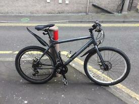 Carrera hybrid mountain bike