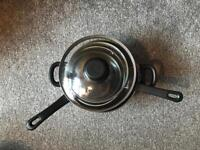 Pan, Utensils, Tea Coffee & Sugar Pots and other Kitchen Items