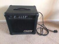 Bass amp - Crate BX-15