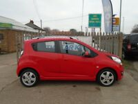 CHEVROLET SPARK 1.2 LS+ 5dr (red) 2012