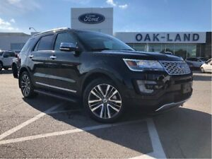2017 Ford Explorer Platinum,0%Fin upto 48 Months