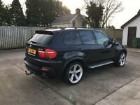 BMW X5 2007 3.0D Sport 21 inch alloys, black metallic paint, only 1 owner from new, 91k genuine mile