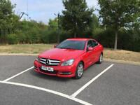 2015 MERCEDES BENZ C CLASS C220 2.1 CDI COUPE SERVICE HISTORY 1 OWNER