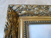 Reproduction Antique Gold gilt Wall hall Mirror