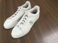 Men's white reebok trainers