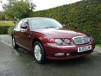 Rover 75 1.8 Club se, only 57000 miles from new last owner since 2005