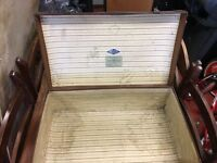 Vintage suitcase antiquities