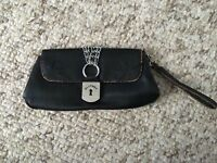 Playboy Leather Look Clutch Bag paypal accept