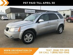 2007 Pontiac Torrent LOW KM! MINT CONDITION! AWD! REMOTE START!