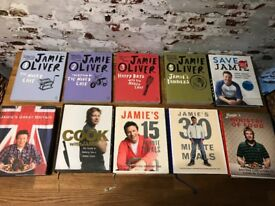 Jami Oliver Cook Book Selection
