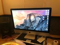"27"" iMac mid 2011 3.4GHz Quad Core i7, 16GB RAM, 256GB SSD + 1TB Serial ATA, 2GB graphics"