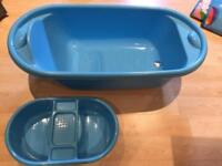 Free mothercare baby bath and top and tail bowl