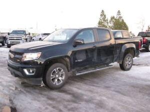 2017 Chevrolet Colorado Z71 / Crew CAB / 4X4  / *Fresh Arrival*