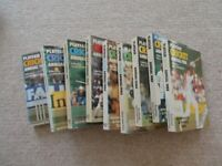 Playfair Cricket annuals, 1980-1988