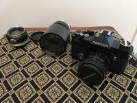 Vintage Topcon IC-1 auto camera