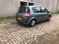 Renault MEGANE SCENIC LOW MILES LONG MOT