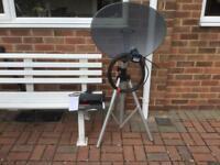 Portable Satellite Dish System