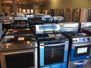 Scratch & Dent Appliances.  Great prices, all brands with warranties!  OURR Home & Appliances.  Unit #2 - 360 Lewis rd.