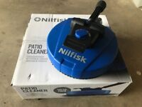 NILFISK PRESSURE WASHER PATIO CLEANER