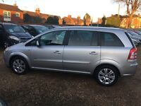 rent hire Vauxhall Zafira 1.9diesel AUTOMATIC 110 pw