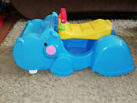 Hippo walker toy, immaculate condition