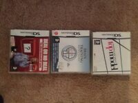 Nintendo DS Games x3