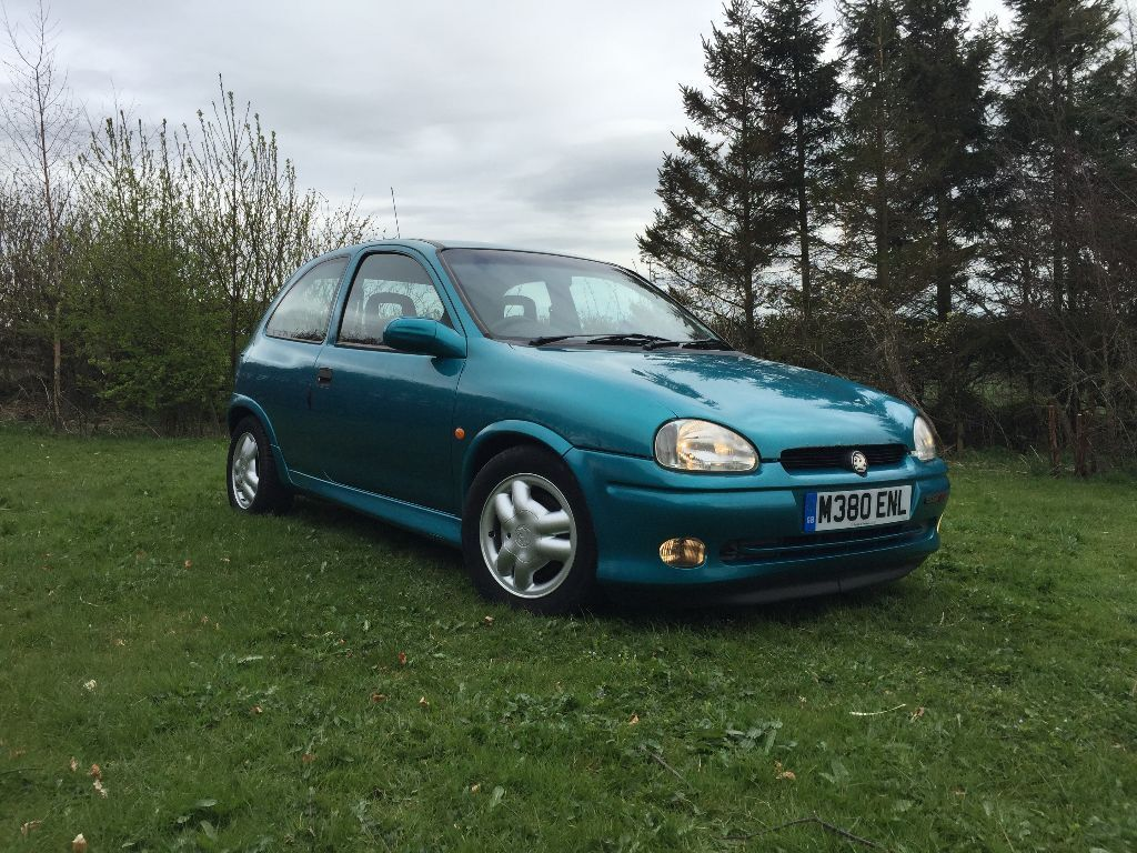 1993 vauxhall corsa gsi 1 6 16v barn find 1 owner from new comes with original bill of sale. Black Bedroom Furniture Sets. Home Design Ideas