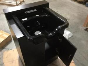 SALON WASH UNIT (SINK AND CABINET) - BRAND NEW IN THE BOX