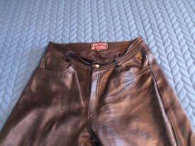 Skintan Leather Trousers