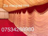 Zia marquee hire ,wedding stage ,house lighting chair hire,mehndi stage ,Zia tent hire