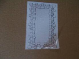 brand new boxed venitian block wall mirror 120x80cm