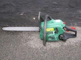 Qualcast Petrol Chainsaw 45.4cc