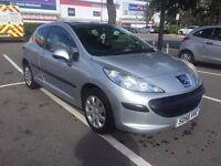 2006 Peugeot 207 S 1.4 Petrol 3Dr hatchback Silver,