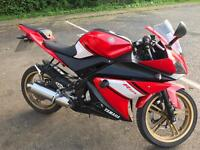 Yamaha YZF-R 125cc Motorbike Supersports