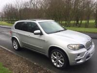 2009 BMW X5 35D M SPORT 7S *sat-nav* *pan-roof* *tv's* FSH 1 owner from new fully loaded 40d 30d x6