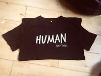 Human they their t-shirt non-binary