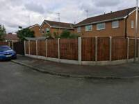 Fencing gates and sheds
