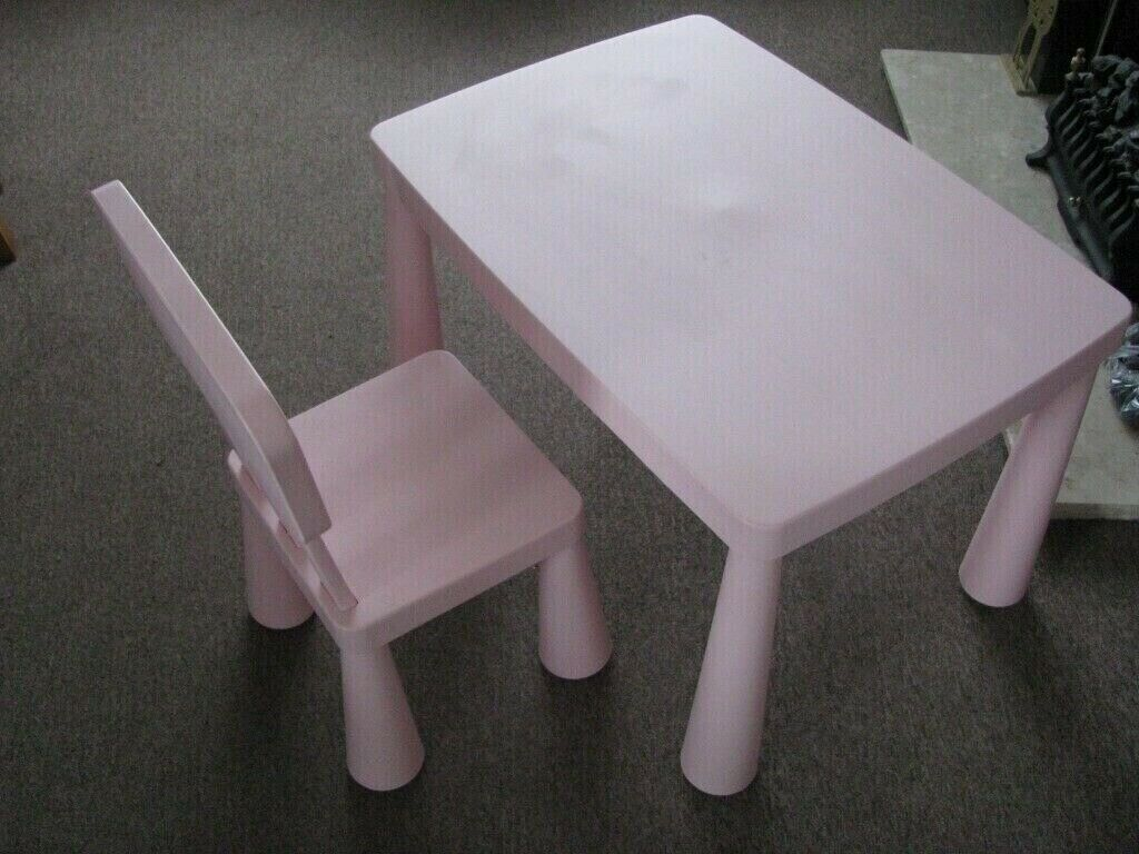 Picture of: Toddler Table And Chairs Ikea