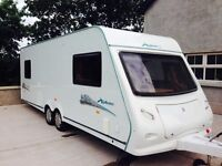 2008 elldis explore 596 6 berth twin axel